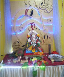 Welcoming of Lord Ganesha